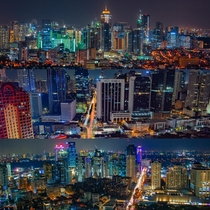 The three central business districts of Metro Manila