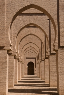 The Tinmel Mosque In Morocco  CE Moorish Architecture
