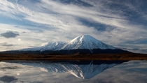 The Tolbachik volcanic complex on the Kamchatka Peninsula Russia