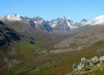 The Tombstone Range in the far north of the Yukon Territory