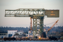 The -ton Hammerhead crane at Bremerton Naval Shipyard
