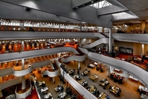 The Toronto Reference Library designed by Raymond Moriyama in
