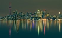 The Toronto skyline reflected in the water  Photographed by Nomad Today