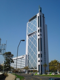 The Torre Telefnica building in Santiago Chile Designed by Mario Paredes