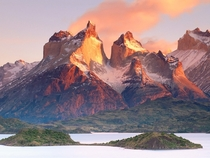 The Torres del Paine in Chilean Patagonia