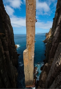 The Totem Pole in Tasmania Australia  Photo by Simon Carter