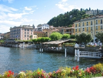 The Town of Bellagio  Lake Como Italy