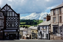The town of Ruthin Wales