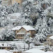The Traditional Estates of Hammana Mount Lebanon in the Snow