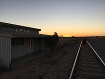 The trains dont stop here anymore Olary South Australia