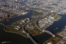The Triborough Bridge and Randalls Island once the personal fiefdom of Robert Moses