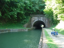 The tunnel at Saint Aignan on the Canal des Ardennes