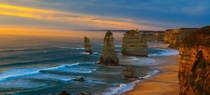 The Twelve Apostles majestic sea stacks in Victoria Australia  photo by An La larger in comments