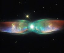 The Twin Jet Nebula or The Butterfly Nebula or K-