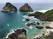The two brothers Fernando de Noronha Brazil OC