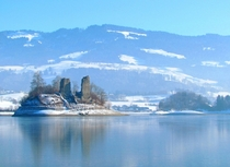 The two castles of Ogoz Gruyre Switzerland