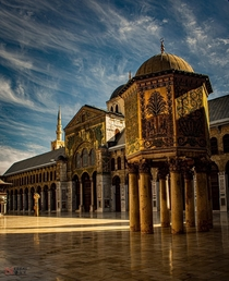 The Umayyad Mosque  Damascus Syria