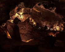 The underworld of Carlsbad Caverns NM