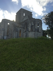 The unfinished church in St Georges Bermuda