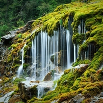 The unique Tropfsteinquelle roughly translates to dripping stone spring in Italian South Tyrol  photo by Andrea Lastri