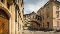 The University of Oxford Bridge of Sighs England