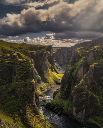 The unnameable canyon of Iceland Fjarrgljfur