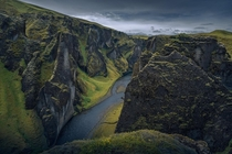 The unpronounceable Canyon of Iceland Fjarrgljfur