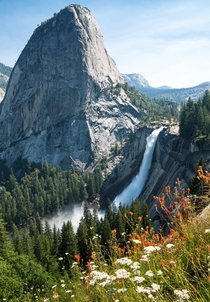 The unreasonably photogenic Nevada Fall