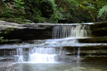 The Upper Dells in Matthiessen State Park Illinois