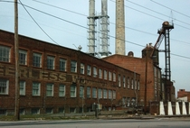 The vacant  year old Burlington Industries Plant Peerless Woolen Mill that sprawls  acres Rossville Ga