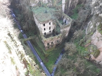 The Valley of Mills abandoned in  Sorrento Italy