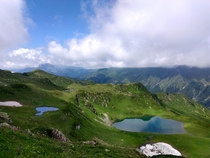 The Valley of Seven Lakes Abkhazia