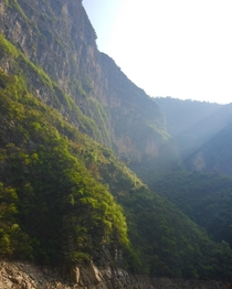 The valleys and mountains in Asia are amazing taken in Southeastern China