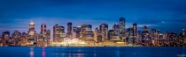 The Vancouver Skyline British Columbia Canada