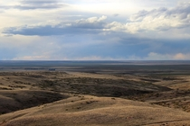 The vast emptiness of the plains of eastern Colorado Near Limon Colorado