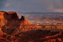 The vast landscapes of the southwest Canyonlands UT