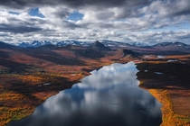 The vast wilderness of Swedish Lapland  by marcograssiphotography