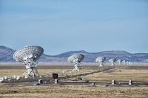 The Very Large Array radio astronomy observatory on the Plains of San Agustin