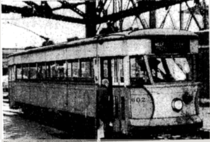 The Very Last Streetcar to run in New York City on its terminal journey across the Queensboro Bridge April