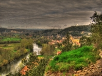 The Vezere Valley France contains  prehistoric sites dating from the Paleolithic and  decorated caves