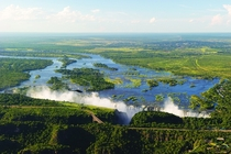 The Victoria Falls Africas broadest waterfall