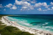 The view from atop Punta Sur Lighthouse Cozumel Island Mexico Taken by doublesecretprobatio