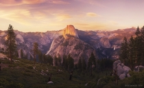 The view from Glacier point in Yosemite National Park Photo by Peter Coskun