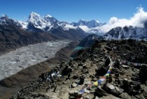 The View from Gokyo Ri Everest Region Nepal
