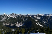 The view from Granite Mountain Washington