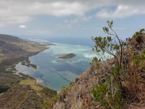 The view from Le Morne Brabant Mauritius