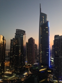 The view from my clients office in Dubai