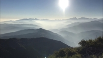 The view from my hike this weekend at Sunset Peak in the San Gabriel Mountains in sunny Southern California
