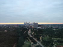 The view from my office in Houston