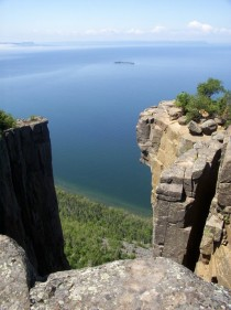 The View from the Sleeping Giant Ontario Canada